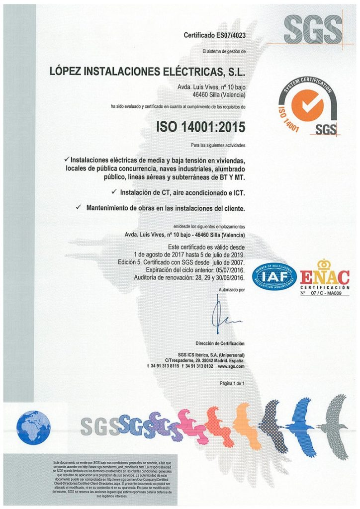 _Cert-ISO-14001-2017-Lopez Electricas
